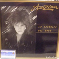 Discos de vinilo: AZUZENA - LA ESTRELLA DEL ROCK - LP 1988 (EX-SANTA) - CONSERVA LA HOJA INTERIOR.. Lote 61565404