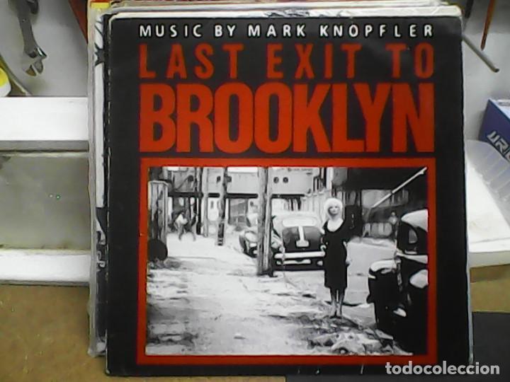 LAST EXIT TO BROOKLYN - MUSIC BY MARK KNOPFLER (Música - Discos - LP Vinilo - Bandas Sonoras y Música de Actores )
