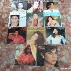 Discos de vinilo: LOLITA LOTE 11 SINGLES . Lote 61576968