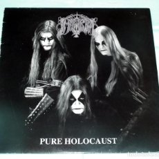 Discos de vinilo: LP IMMORTAL - PURE HOLOCAUST 1993. Lote 61587856