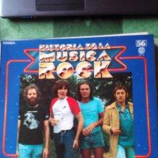 Discos de vinilo: FAIRPORT CONVENTION - LP VINILO -HISTORIA DE LA MÚSICA ROCK Nº 56. Lote 61589216