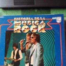Discos de vinilo: THE WALKER BROTHERS - LP VINILO -HISTORIA DE LA MÚSICA ROCK Nº 60. Lote 61589372