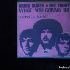 Discos de vinilo: BRIAN AUGER & THE TRINITY WHAT YOU GONNA DO. Lote 61616380