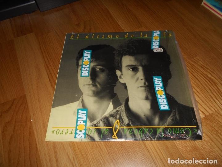 EL ULTIMO DE LA FILA - COMO LA CABEZA AL SOMBRERO LP 1988 (Música - Discos - LP Vinilo - Grupos Españoles de los 70 y 80)