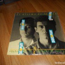Discos de vinilo: EL ULTIMO DE LA FILA - COMO LA CABEZA AL SOMBRERO LP 1988. Lote 61619984