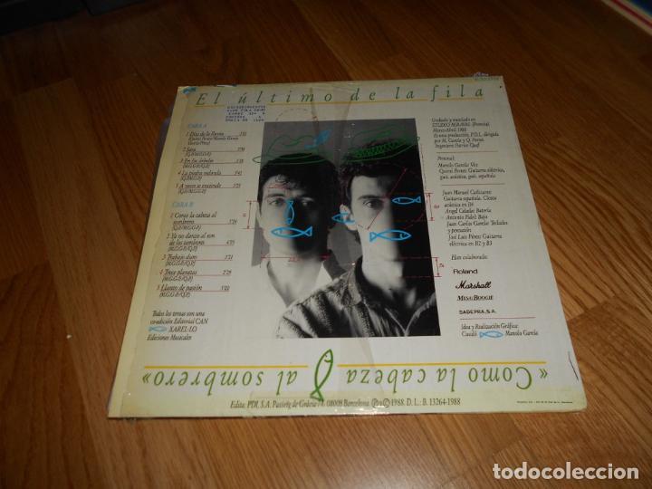 Discos de vinilo: El ultimo de la fila - como la cabeza al sombrero Lp 1988 - Foto 2 - 61619984