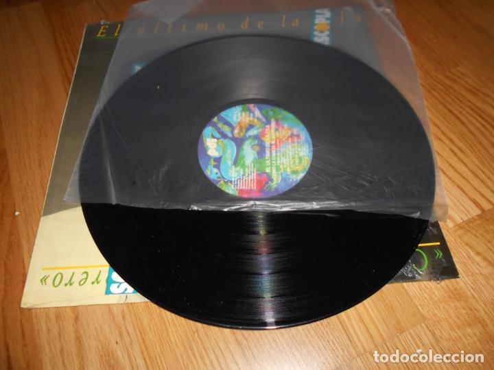 Discos de vinilo: El ultimo de la fila - como la cabeza al sombrero Lp 1988 - Foto 4 - 61619984