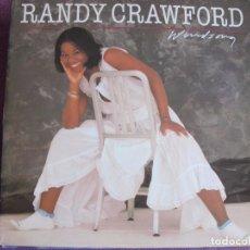 Discos de vinilo: LP - RANDY CRAWFORD - WIND SONG (SPAIN, WB RECORDS 1982). Lote 61629504