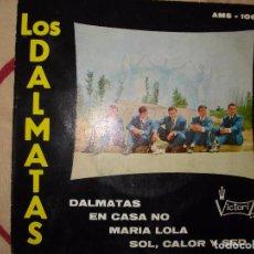 Discos de vinilo: LOS DALMATAS , DALMATAS + 3 EP EDICION ESPAÑOLA AÑO 1966 , CON TRICENTER. Lote 61669536
