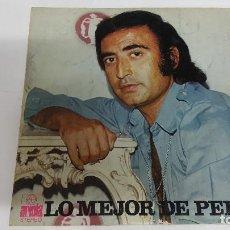 Discos de vinilo: MAGNIFICO LP DE - LO MEJOR DE PERET -. Lote 61674320