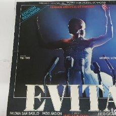 Discos de vinilo: MAGNIFICO LP DE - EVITA - PALOMA SAN BASILIO PATXI ANDION - JULIO CATANIA TONY LANDA -. Lote 61676288