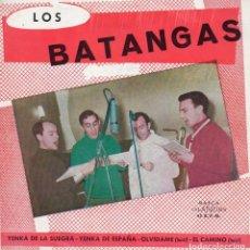 Discos de vinilo: LOS BATANGAS, EP, YENKA DE LA SUEGRA + 3, AÑO 1965. Lote 61682428
