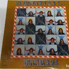 Discos de vinilo: MAGNIFICO LP DE - C L A Q U E T A - 1 , 2 , 3 ,Y . Q U E I M A D A -. Lote 61687252