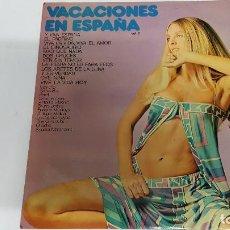Discos de vinilo: MAGNIFICO LP DE - VACACIONES EN ESPAÑA -. Lote 61688092