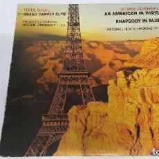 Discos de vinilo: MAGNIFICO LP DE - GRAND CANYON SUITE - FERDE GROFE -. Lote 61688940