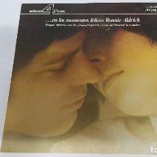 Discos de vinilo: MAGNIFICO LP DE - RONNIE ALDRICH - EN LOS MOMENTOS FELICES -. Lote 61689084