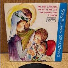 Discos de vinilo: CANCIONES NAVIDEÑAS. EP / PALOBAL - 1966 / CALIDAD LUJO. ****/****. Lote 61689316