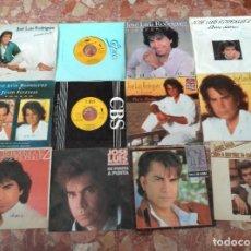 Discos de vinilo: JOSE LUIS RODRIGUEZ EL PUMA LOTE 12 SINGLES. Lote 61693792