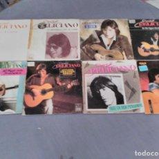 Discos de vinilo: JOSE FELICIANO LOTE 8 SINGLES . Lote 61696768