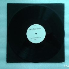 Dischi in vinile: PET SHOP BOYS - CAN YOU FORGIVE HER ? ROLLO REMIX DUB MAXI SINGLE 1993. Lote 61698840