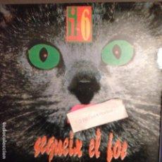 Discos de vinilo: I-6 SEGUEIX EL JOC, ROCK CATALA PICAP 1991 PEP SALA (SAU) PRODUCTOR I TECLATS. Lote 61722508