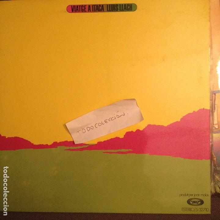 LLUIS LLACH VIATGE A ITACA, FOLK PROGRESIVO ARREGLOS MANEL CAMP-FUSIOON (Música - Discos - Singles Vinilo - Cantautores Españoles)