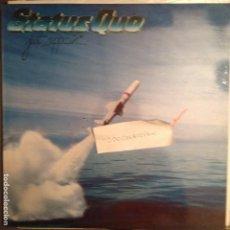 Discos de vinilo: STATUS QUO - JUST SUPPOSIN EDICION ESPAÑOLA 1980. Lote 61726664