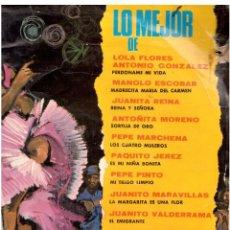 Discos de vinilo: LO MEJOR DE FLAMENCO . Lote 61732224