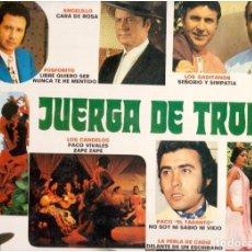 Discos de vinilo: JUERGA DE TRONIO. Lote 61733608
