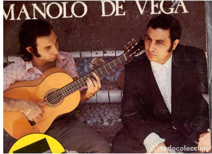 MANOLO VEGA (Música - Discos de Vinilo - EPs - Flamenco, Canción española y Cuplé)