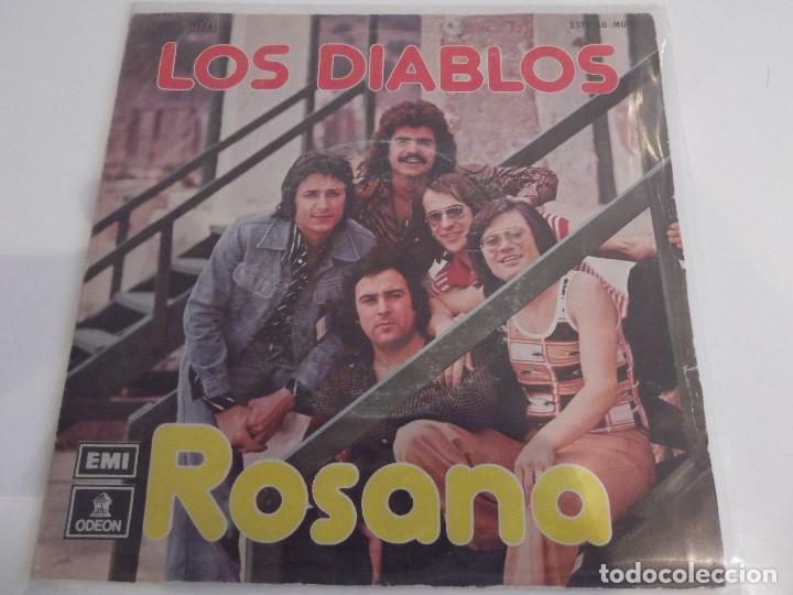 LOS DIABLOS - ROSANA (Música - Discos - Singles Vinilo - Solistas Españoles de los 70 a la actualidad)