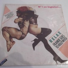 Discos de vinilo: FRANKIE GOES TO HOLLYWOOD - RELAX. Lote 61759240