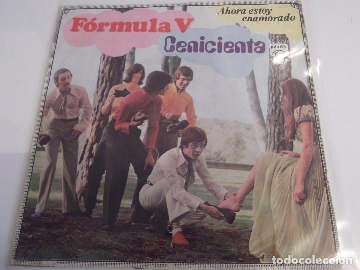 FORMULA V - CENICIENTA (Música - Discos - Singles Vinilo - Grupos Españoles de los 70 y 80)