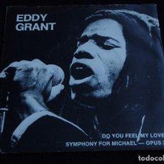 Discos de vinilo: EDDY GRANT ( DO YO FEEL MY LOVE - SYMPHONY FOR MICHAEL-OPUS 2 ) 1980-SWEDEN SINGLE45 ICE. Lote 61764740