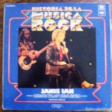 Discos de vinilo: VINILO HISTORIA DE LA MUSICA ROCK NUMERO 81 JANIS IAN. Lote 61765776