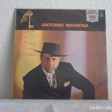 Discos de vinilo: LP ANTONIO MAIRENA-LA LLAVE DE ORO DEL CANTE FLAMENCO. Lote 61770044