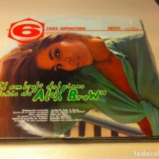 Discos de vinilo: ALEX BROWN LP PALOBAL VEDETTE ESPAÑA BIEN CONSERVADO. Lote 61773928