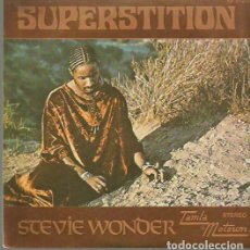Discos de vinilo: STEVIE WONDER SINGLE SELLO TAMLA-MOTOWN EDITADO EN ESPAÑA AÑO 1973 PROMOCIONAL. Lote 61778572