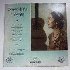 Discos de vinilo: CONCHITA PIQUER. PUENTE DE COPLAS. COLUMBIA. Lote 61805660