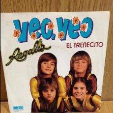 Discos de vinilo: REGALIZ. VEO VEO. SINGLE / BELTER - 1981 / MBC. ***/***. Lote 61806468