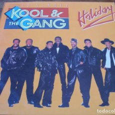 Discos de vinilo: KOOL & THE GANG - HOLIDAY - MAXISINGLE MERCURY AÑO 1986. Lote 61809324