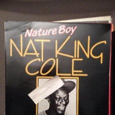 Discos de vinilo: NAT KING COLE - NATURE BOY -LP- PDI 1984 SPAIN. Lote 61736736