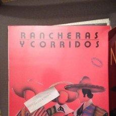 Discos de vinilo: RANCHERAS Y CORRIDOS MIX PDI 1987 DISEÑO JOSEP COLLS. Lote 61737160