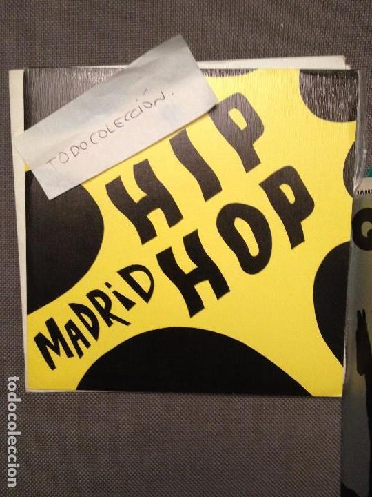 MADRID HIP HOP -DNI: VAS A ALUCINAR / SINDICATO DEL CRIMEN: JUANA (Música - Discos - Singles Vinilo - Rap / Hip Hop)