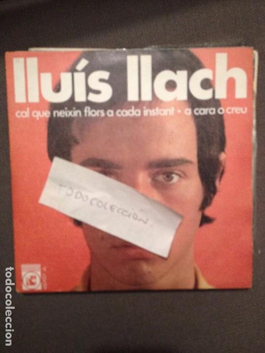 LLUIS LLACH CAL QUE NEIXIN FLORS A CADA INSTANT/A CARA O CREU. CONCENTRIC NOVA CANÇÓ -SETZE JUTGES (Música - Discos - Singles Vinilo - Cantautores Españoles)