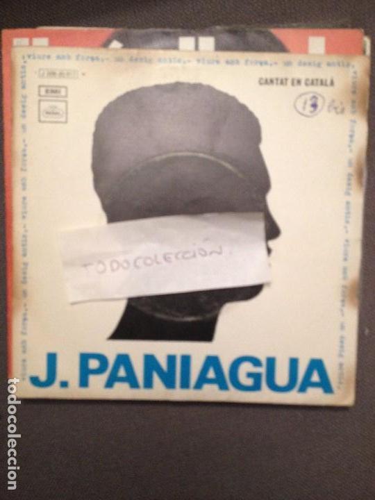 J. PANIAGUA – VIURE AMB FORÇA / UN DESIG ANTIC - 1970 - REGAL (Música - Discos - Singles Vinilo - Cantautores Españoles)