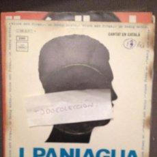 Discos de vinilo: J. PANIAGUA – VIURE AMB FORÇA / UN DESIG ANTIC - 1970 - REGAL . Lote 61836512