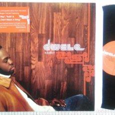 Discos de vinilo: DWELE - '' SUBJECT '' LP VINYL EU. Lote 45471564