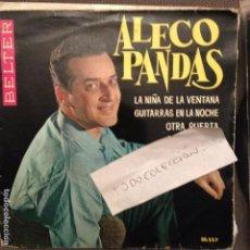 Discos de vinilo: ALECO PANDAS LA NIÑA DE LA VENTANA +3 BELTER 1962 . Lote 61841796