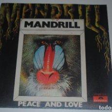 Discos de vinilo: MANDRILL..PEACE AND LOVE.(POLYDOR 1971).SPAIN. Lote 61843460